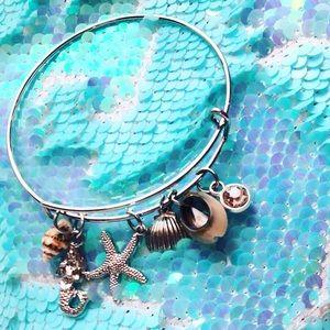 Jewelry - Silver Mermaid Charm Bracelet